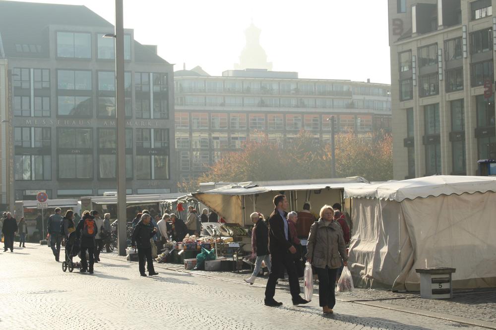 Leipzigs Marktplatz. Foto: Ralf Julke