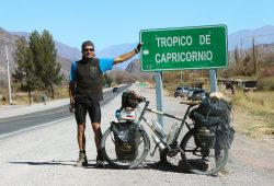 Am Tropic of Capricorn (Argentinien). Foto: privat