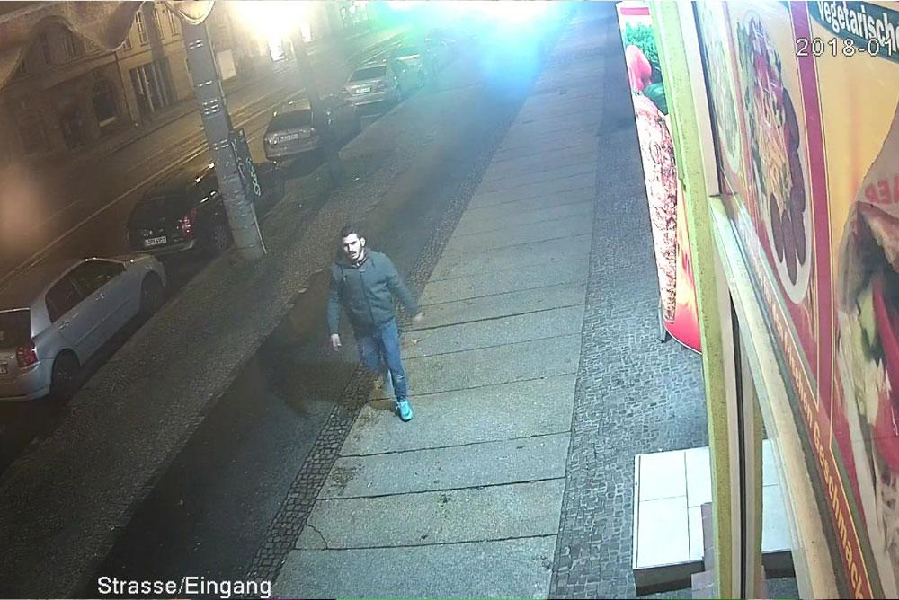 Wer erkennt den Mann? Wer weiß, wo er sich aufhält? Foto: PD Leipzig