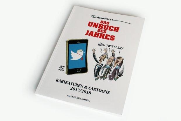 Schwarwel: Das Unbuch des Jahres. Foto: Ralf Julke