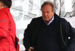 Überaus entschlossen vor der nächsten Verhandlungsrunde - der Verdi-Chef Frank Bsirske in Leipzig. Foto: L-IZ.de
