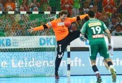 Jens Vortmann im Tor des SC DHfK Leipzig. Foto: Jan Kaefer (Archiv)