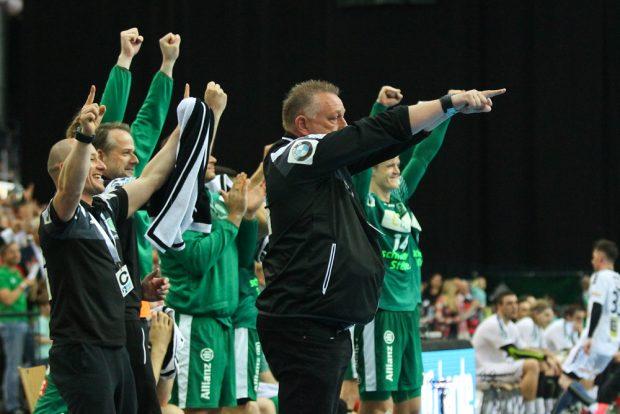 Am Ende konnten Michael Biegler und sein DHfK-Team zufrieden sein. Foto: Jan Kaefer