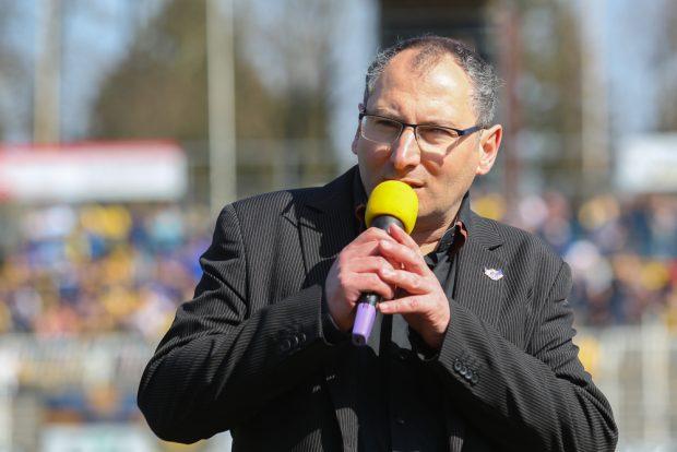 Lok-Präsident Thomas Löwe will dem Team trotz Umstellung keinen Aufstiegsdruck machen. Foto: Jan Kaefer