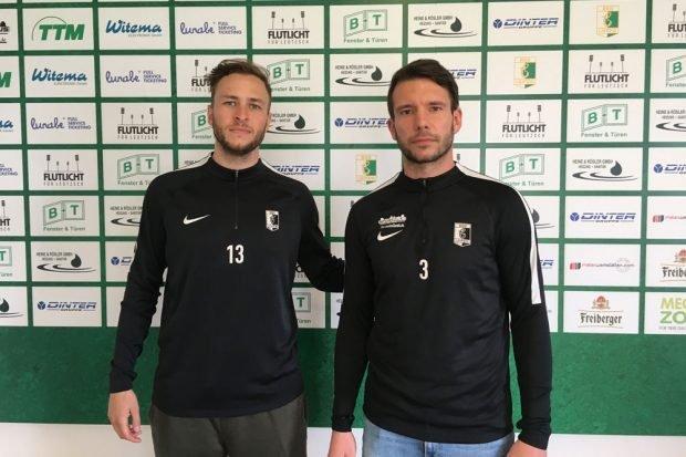 Benjamin Schmidt (links), Stefan Karau (rechts). Foto: BSG Chemie Leipzig