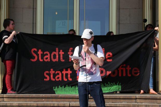 Besuch von Recht auf Stadt aus Halle Saale. Foto: L-IZ.de