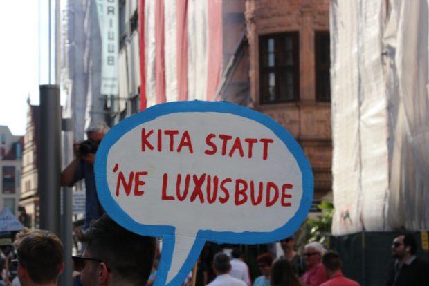 Das was er sagt ... Baugrund wird für alle rar. Foto: L-IZ.de