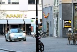 """Das Haus in der Reichsstraße 13 - angeblich der Sitz des """"Schelms"""". Foto: Michael Freitag"""