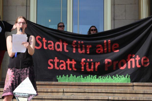Ein Bericht über das Vorgehen der Stadtbau AG in Leipzig Plagwitz von einer betroffenen Mieterin. Foto: L-IZ.de
