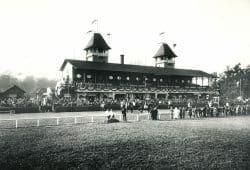 Galopprennbahn Scheibenholz um 1910. Foto: SGM
