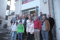 Gründungsmitglieder der Fritz-Rudolf-Fries-Gesellschaft e.V. (i. Gr.) Foto: Iwona Lompart