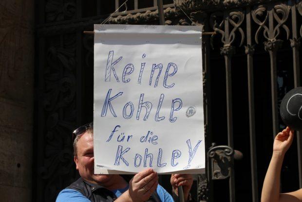 Keine Kohle für die Kohle mehr aus Leipzig. Foto: L-IZ.de