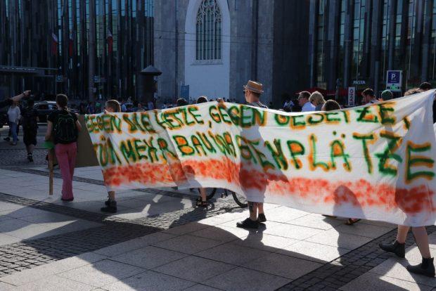 Oft verteufelt und für die Bewohner ein Stück Freiheit - die Wagenplätze in Leipzig. Foto: L-IZ.de
