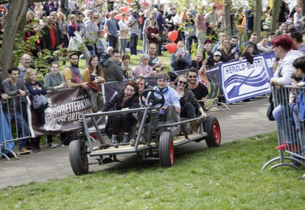 Das Seifwnkistenrennen, Foto: J. Straube
