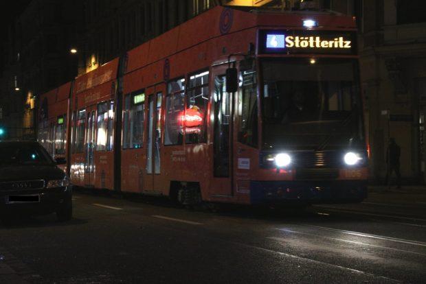Alle Räder stehen stiill am 13. April in Leipzig. Foto: Michael Freitag