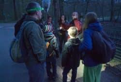 Vogelstimmenexkursion im Dunkeln. Foto: Fabian Haas