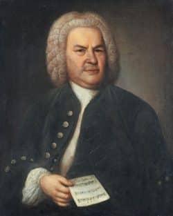 Das konservierte Bach-Porträt von Elias Gottlob Haussmann von 1746. Foto: Rüdiger Beck
