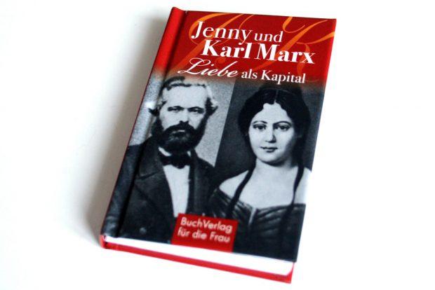 Caroline Vongries: Jenny und Karl Marx. Foto: Ralf Julke