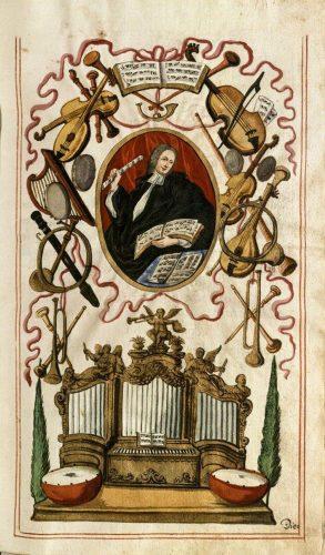 Bach-Schüler Philipp David Kräuter. Foto: Stadtarchiv Augsburg