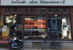 kunZstoffe in der Georg-Schwarz-Straße 7. Foto: kunZstoffe e.V.