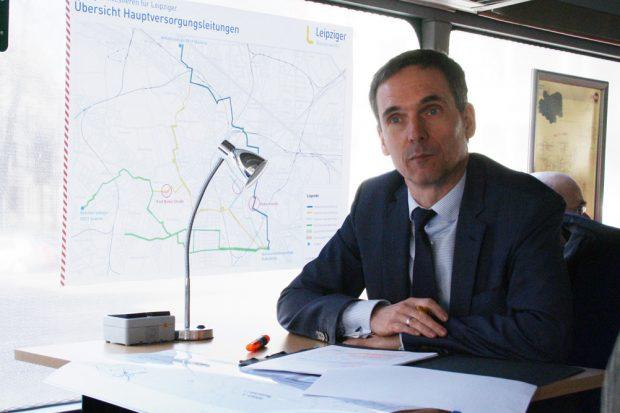 Ulrich Meyer, der Technische Geschäftsführer der Kommunalen Wasserwerke Leipzig (KWL). Foto: Ralf Julke