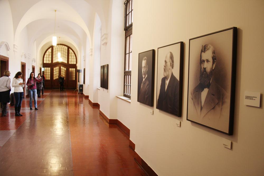 OBM-Galerie im Neuen Rathaus. Foto: Ralf Julke