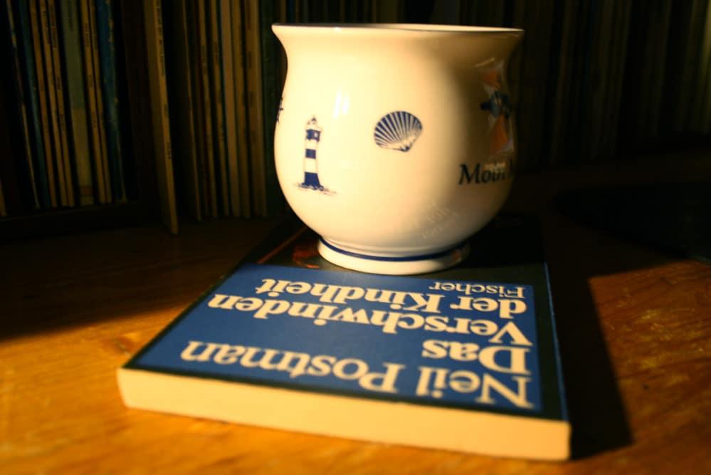 Mal ein anderer Postman-Band zum Tee ... Foto: Ralf Julke
