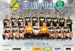 Teamfoto der Aufstiegsmannschaft der SG LVB Leipzig. Foto: SC DHfK