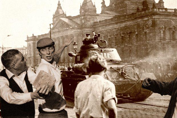 Adolf Südknecht - Der Aufstand. Foto: Armin Zarbock