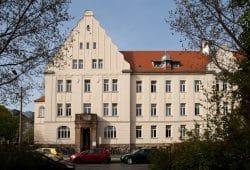 Die Medizinische Berufsfachschule am UKL in der Leipziger Richterstraße. Foto: Stefan Straube/UKL
