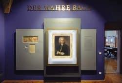 Das Bach-Porträt im neu gestalteten Kabinett. Foto: PUNCTUM / Alexander Schmidt