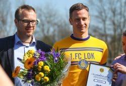 """Markus Krug mit Lok-Rekord: """"Darauf kann ich stolz sein"""". Foto: Jan Kaefer (Archiv)"""