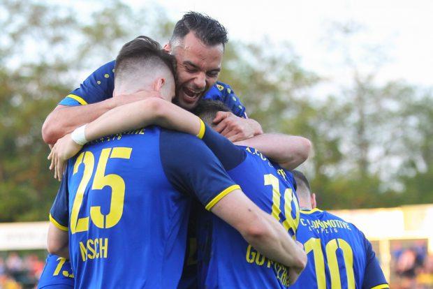 Djamal Ziane und sein 1. FC Lok konnten gegen Nordhausen zwei Tore bejubeln. Foto: Jan Kaefer