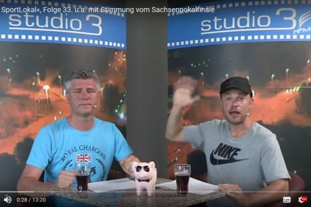 """Letzte reguläre """"Vorspiel""""-Sendung vor der Sommerpause. Foto: Screenshot Heimspiel-TV"""