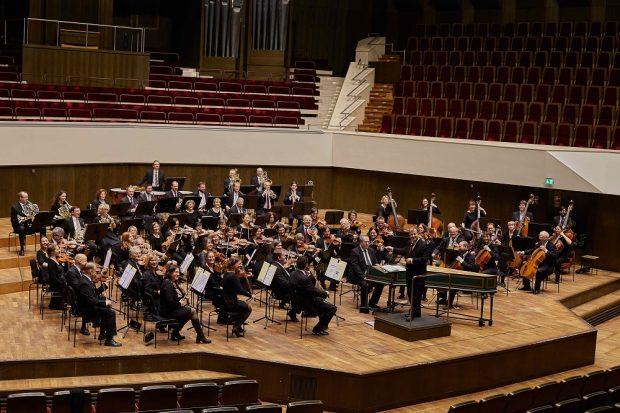 Das Orchester freut sich auf sein Publikum. Foto: Ilja Claus