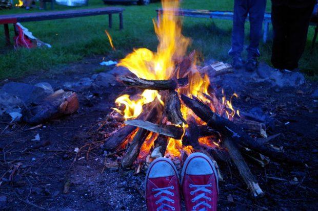 Lagerfeuer und ...