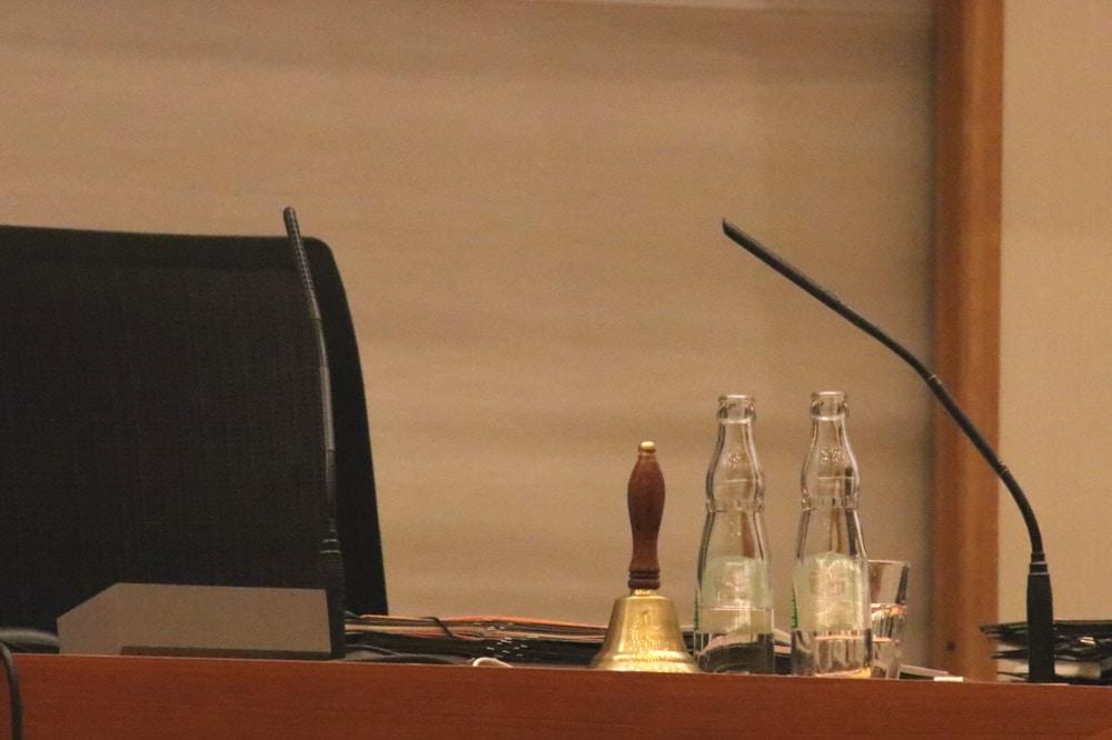 Seit 12 Jahren der Platz von Oberbürgermeister Burkhard Jung (SPD) im Leipziger Stadtrat. Foto: L-IZ.de