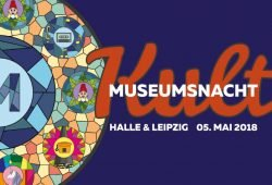Logo Museumsnacht. Foto: Stadt Leipzig, Artkolchose