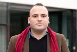 Taher Mokhtar. Foto: Michel Slomka