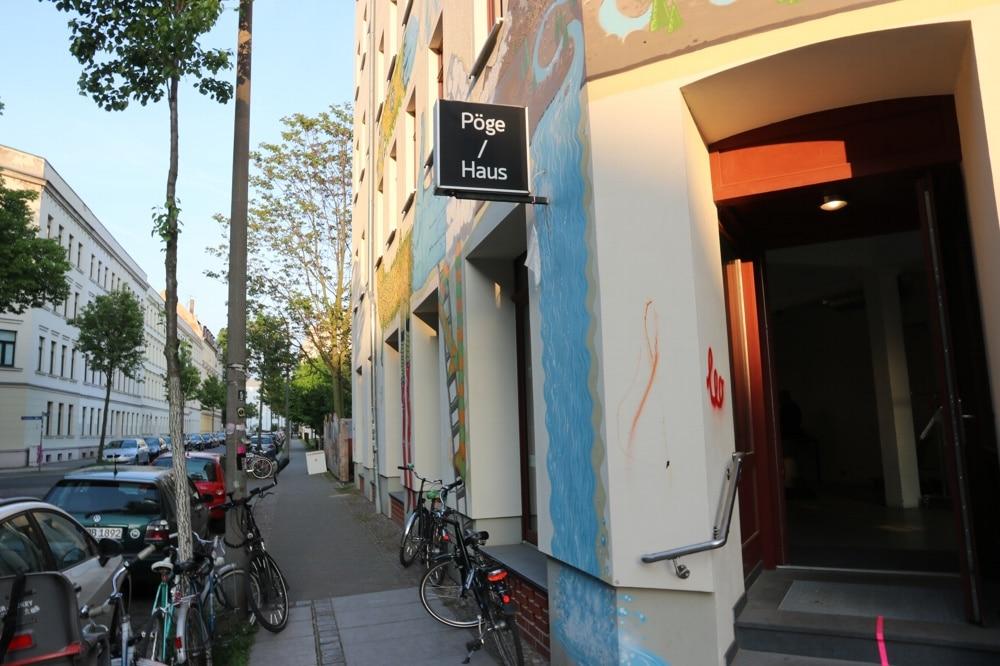 Der richtige Ort: Das Pöge-Haus an der Hedwigstraße im Leipziger Osten. Foto: L-IZ.de