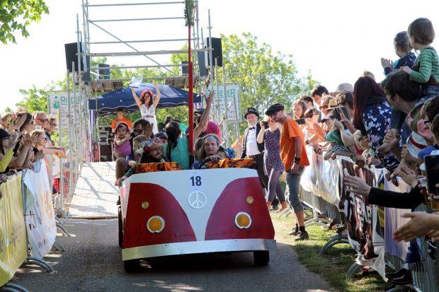Das legendäre Seifenkistenrennen, Foto: Clarissa Seidel