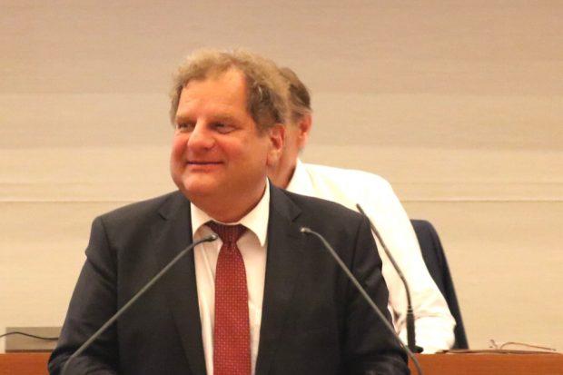 Thomas Fabian in der Bildungspolitischen Stunde am 31. Mai 2018. Foto: L-IZ.de