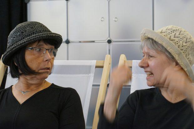 Christel Römer, Sabine Tietzen (v.l.). Foto: Anja Schwede