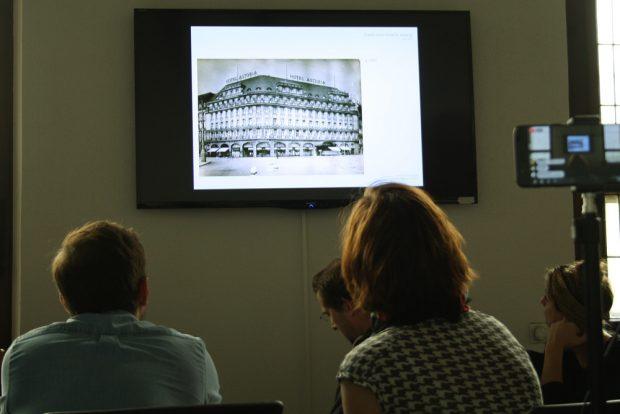 """So sah das """"Astoria"""" nach seiner Erbauung 1915 aus. Foto: Ralf Julke"""