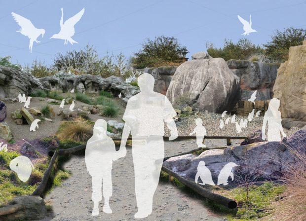 Noch Zukunftsmusik ist der zweite Teil von Südamerika: Feuerland. Grafik: Zoo Leipzig