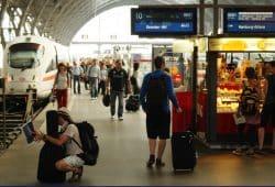 Ankunft am Leipziger Hauptbahnhof. Foto: Ralf Julke