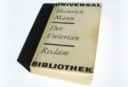 Heinrich Mann: Der Untertan. Foto: Ralf Julke