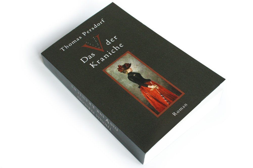 Thomas Persdorf: Das V der Kraniche. Foto: Ralf Julke
