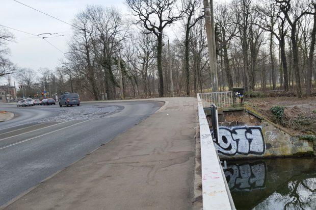 Die Plagwitzer Brücke. Foto: Marko Hofmann