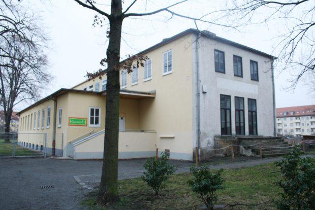 Das Vereinsheim des Kleingartenvereins Ostvorstadt in der Holsteinstraße. Foto: Ralf Julke